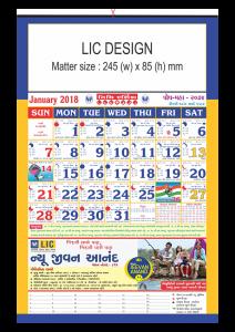 LIC- Calendars